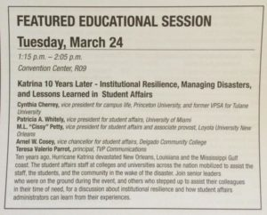 NASPA Session Description