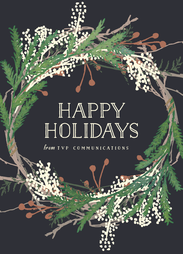 TVP Comms Holiday Card 2015