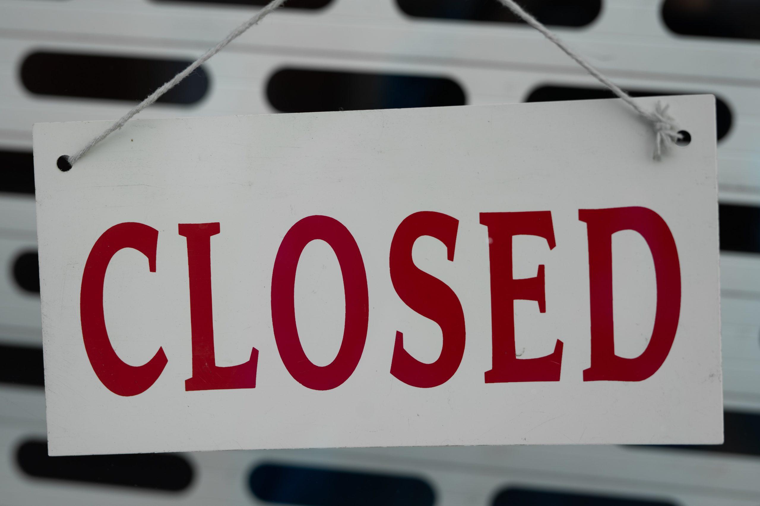 Frank Talk about Abrupt College Closures